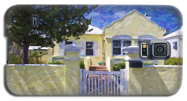 Galaxy S5 Case featuring the photograph Traditional Bermuda Home by Verena Matthew
