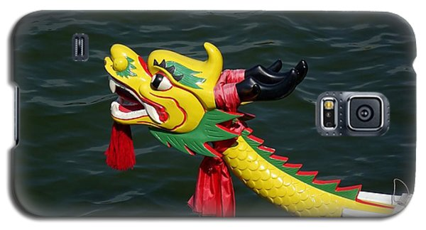 Traditional Dragon Boat Decoration In Taiwan Galaxy S5 Case by Yali Shi