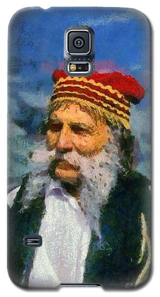 Traditional Dressed Man In Delphi Galaxy S5 Case