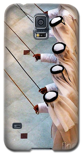 Traditional Emirati Men's Dance  Galaxy S5 Case