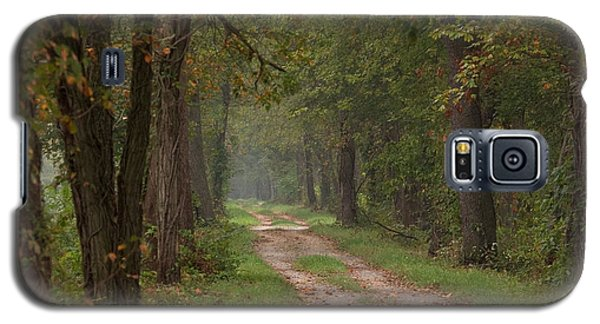 Trail Along The Canal Galaxy S5 Case by Jeannette Hunt