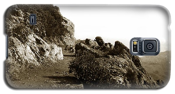 Galaxy S5 Case featuring the photograph Trail On Mt. Tamalpais Marin Co California Circa 1902  by California Views Mr Pat Hathaway Archives
