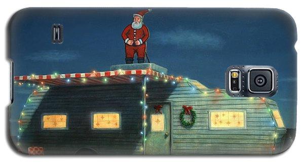 Trailer House Christmas Galaxy S5 Case