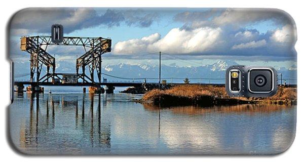 Train Bridge Galaxy S5 Case by Chris Anderson