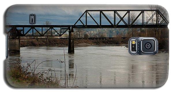 Galaxy S5 Case featuring the photograph Train Bridge by Erin Kohlenberg