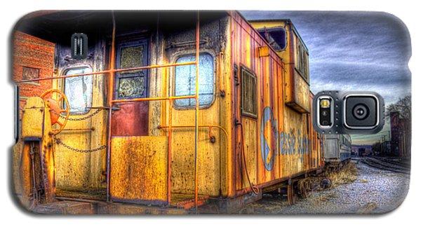 Train Caboose Galaxy S5 Case by Jonny D