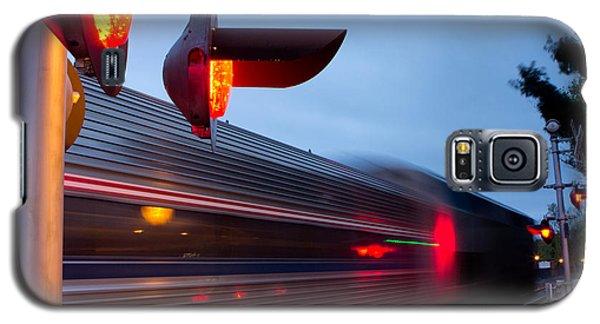 Train Crossing Road Galaxy S5 Case