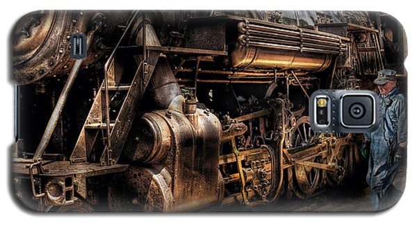 Train - Engine -  Now Boarding Galaxy S5 Case