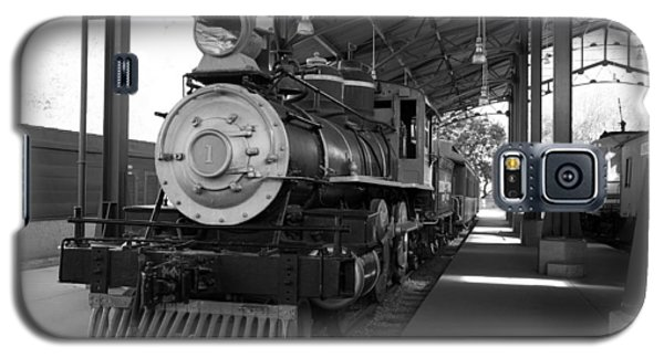 Train Galaxy S5 Case by Gandz Photography