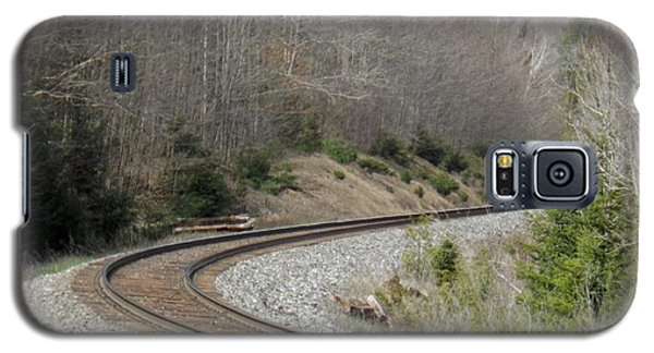 Train It Coming Around The Bend Galaxy S5 Case