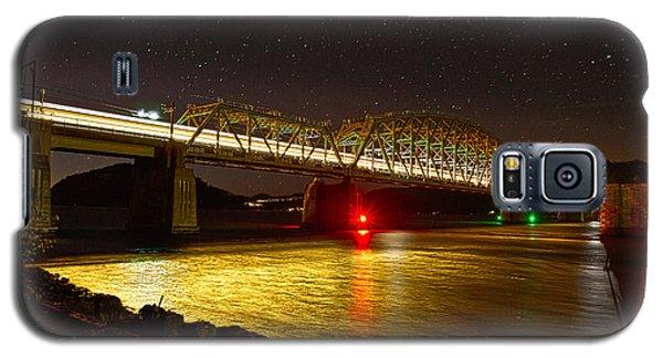 Train Lights In The Night Galaxy S5 Case