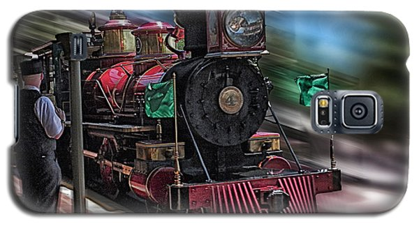 Train Ride Magic Kingdom Galaxy S5 Case by Thomas Woolworth