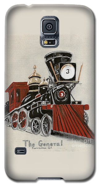 Train - The General -painted Galaxy S5 Case