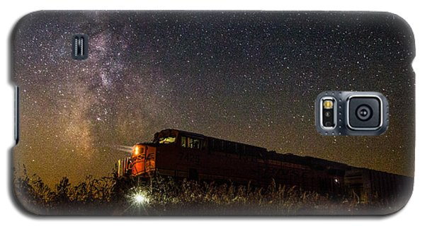 Train Galaxy S5 Case - Train To The Cosmos by Aaron J Groen