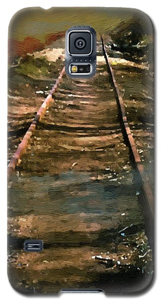 Train Track To Hell Galaxy S5 Case