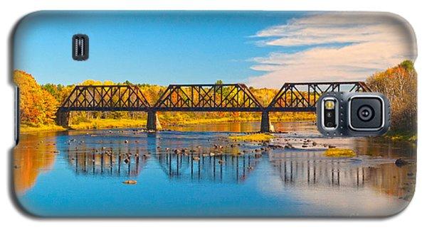 Train Trestle Galaxy S5 Case