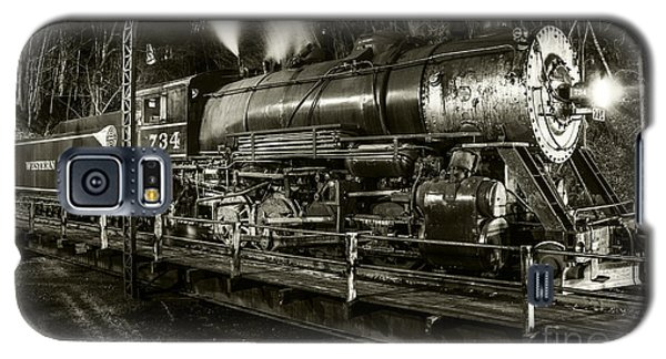 Train Turntable In Frostburg Maryland Galaxy S5 Case