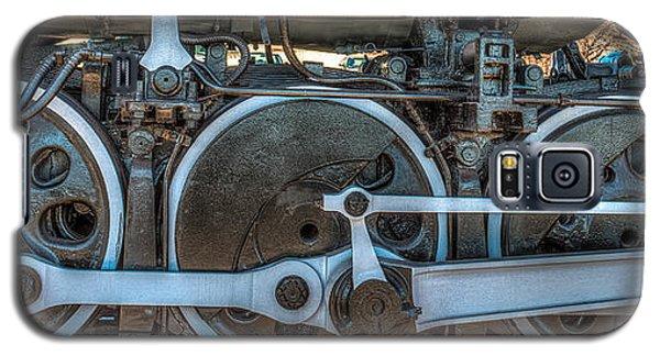 Train Wheels Galaxy S5 Case by Paul Freidlund
