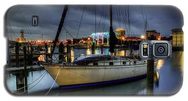 Tranquil Harbour Evening Galaxy S5 Case