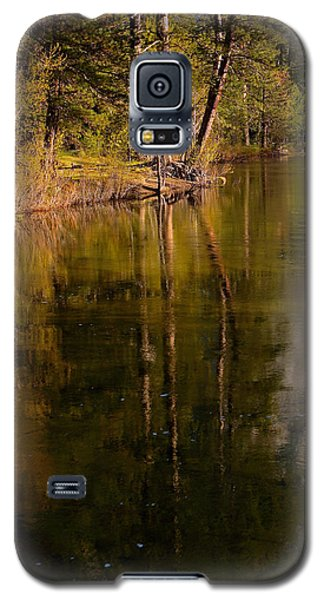 Galaxy S5 Case featuring the photograph Tranquil Merced River by Duncan Selby