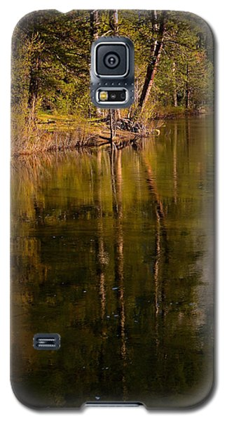 Tranquil Merced River Galaxy S5 Case by Duncan Selby