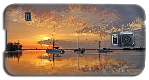 Tranquility Bay - Florida Sunrise Galaxy S5 Case
