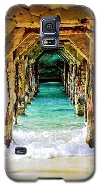 Beach Galaxy S5 Case - Tranquility Below by Karen Wiles