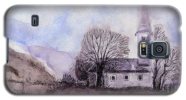 Galaxy S5 Case featuring the painting Tranquility by Jasna Dragun