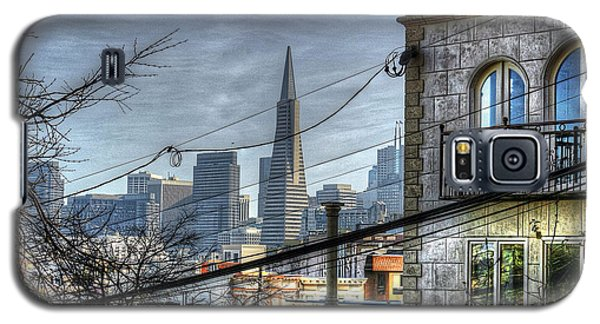 Galaxy S5 Case featuring the photograph Transamerica View by Kevin Ashley