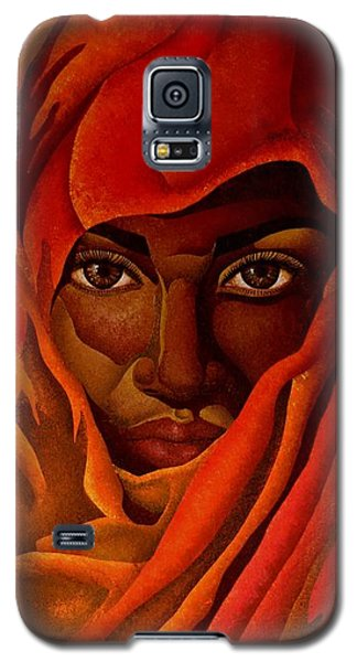Transcendental Nubian Galaxy S5 Case by William Roby