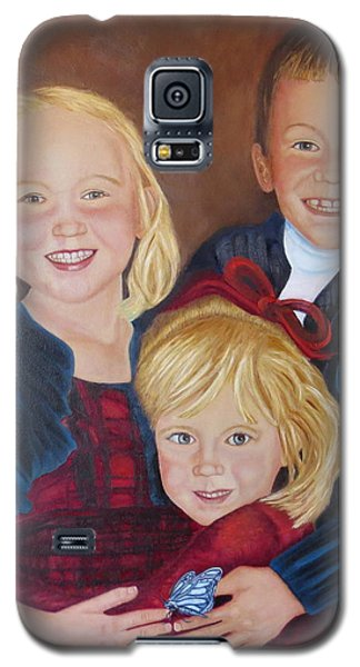 Galaxy S5 Case featuring the painting Transition by Sharon Schultz