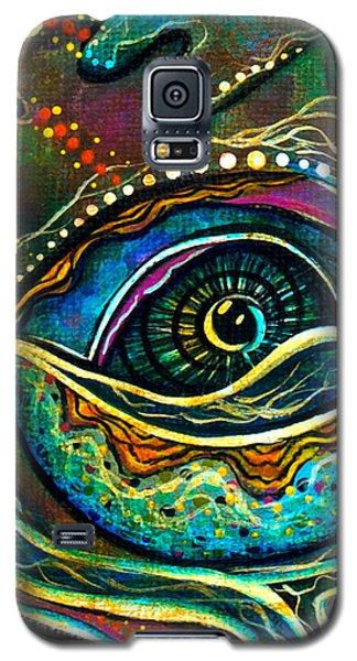 Transitional Spirit Eye Galaxy S5 Case by Deborha Kerr