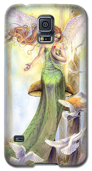 Fantasy Galaxy S5 Case - Translucence  by Sara Burrier