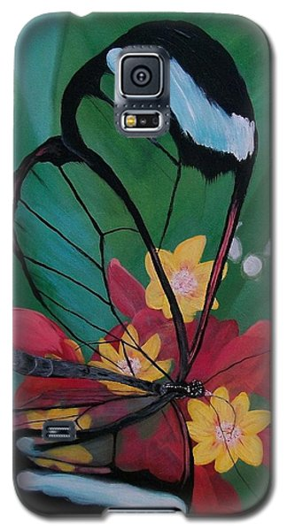 Transparent Elegance Galaxy S5 Case