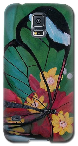 Transparent Elegance Galaxy S5 Case