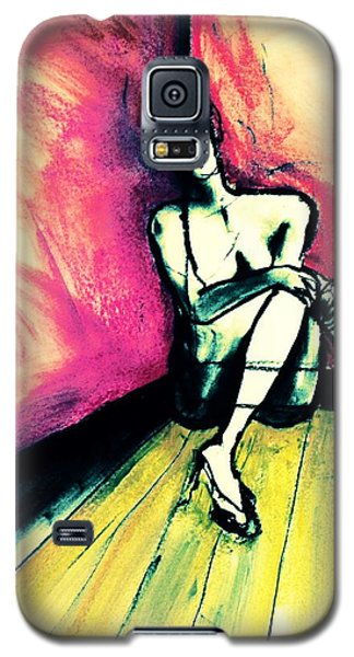 Transparent Galaxy S5 Case by Helen Syron