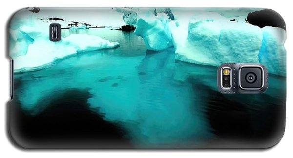 Galaxy S5 Case featuring the photograph Transparent Iceberg by Amanda Stadther