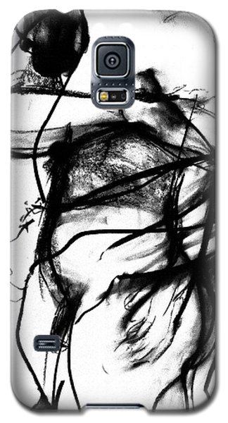 Galaxy S5 Case featuring the drawing Trapped by Helen Syron
