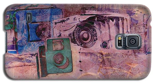 Travel Log Galaxy S5 Case by Erika Weber