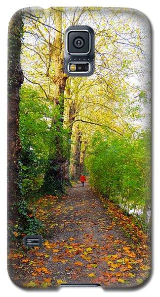 Traversee De L'automne Au Bord Du Canal De Seclin Galaxy S5 Case