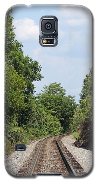 Galaxy S5 Case featuring the photograph Traxs To Anywhere by Aaron Martens