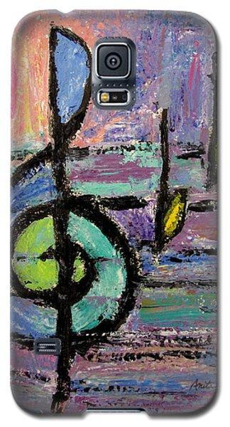 Treble Clef Galaxy S5 Case