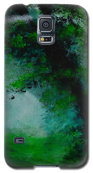 Tree And Mist Galaxy S5 Case by P Dwain Morris