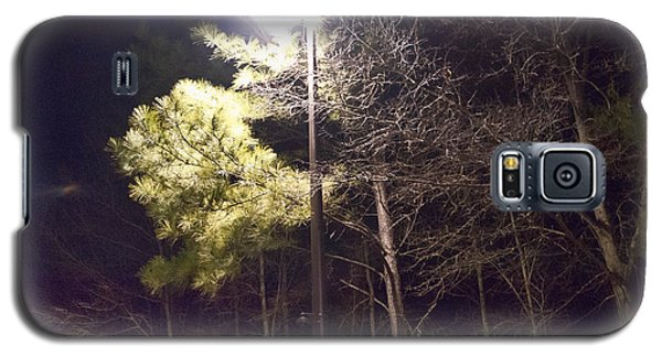 Tree And Streetlight  Galaxy S5 Case by J Riley Johnson