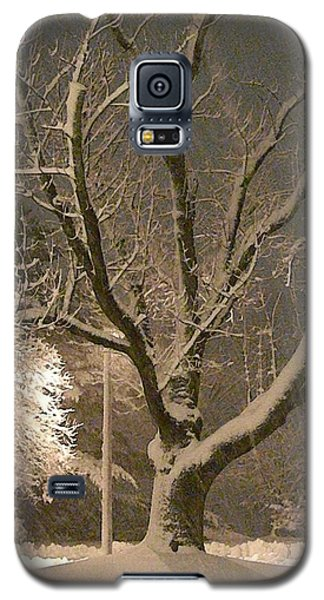Tree At Night Galaxy S5 Case