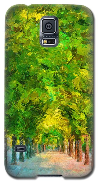 Tree Avenue In The Vienna Augarten Galaxy S5 Case