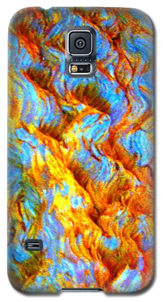 Galaxy S5 Case featuring the photograph Tree Bark by Julia Ivanovna Willhite