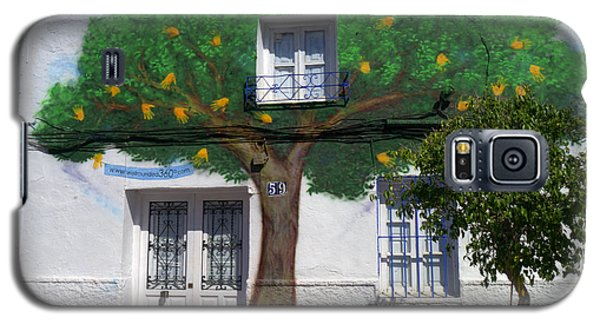 Tree House In Spain Galaxy S5 Case