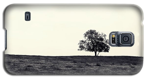 Tree In Field Galaxy S5 Case by Kara  Stewart