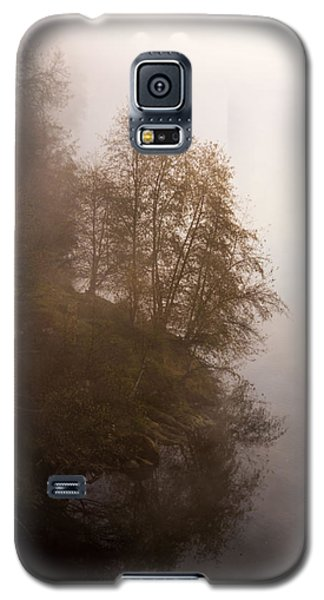 Tree In The Fog  Galaxy S5 Case